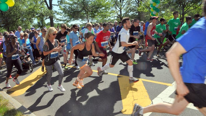 More than 500 runners and walkers participated in the sixth annual Lakeview 5K in Edison's Roosevelt Park on June 7. The top finishers were Cliff Gerber of East Brunswick (17:30) and Chloe Goldstein of Warren (20:33).