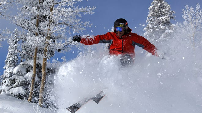 More skiers are opting to 'earn their turns' by leaving the comfort of ski resorts.