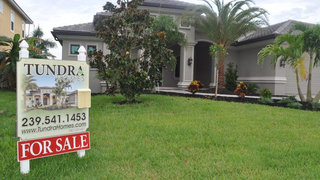 This home in Cape Coral is a spec home built by Tundra Homes.
