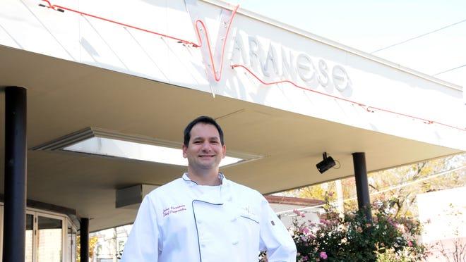 John Varanese is celebrating his restaurant's seventh anniversary.