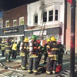 Early morning fire displaces Vineland family