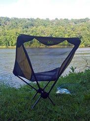 The REI Flex Lite Chair weighs just 1 lb., 10 oz.,