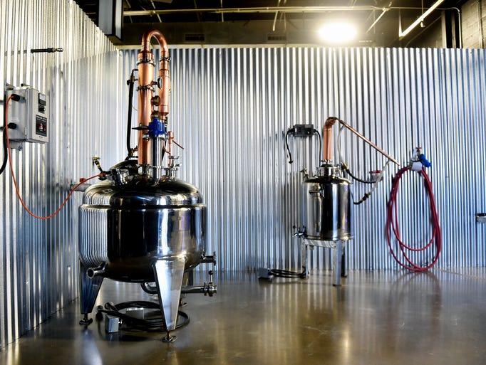 The still at Old Republic Distillery Tasting Room &
