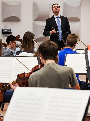 Mark Dupere was named Lawrence University's director of orchestral studies earlier this year. He makes his debut as conductor of the Lawrence Symphony Orchestra on Friday.