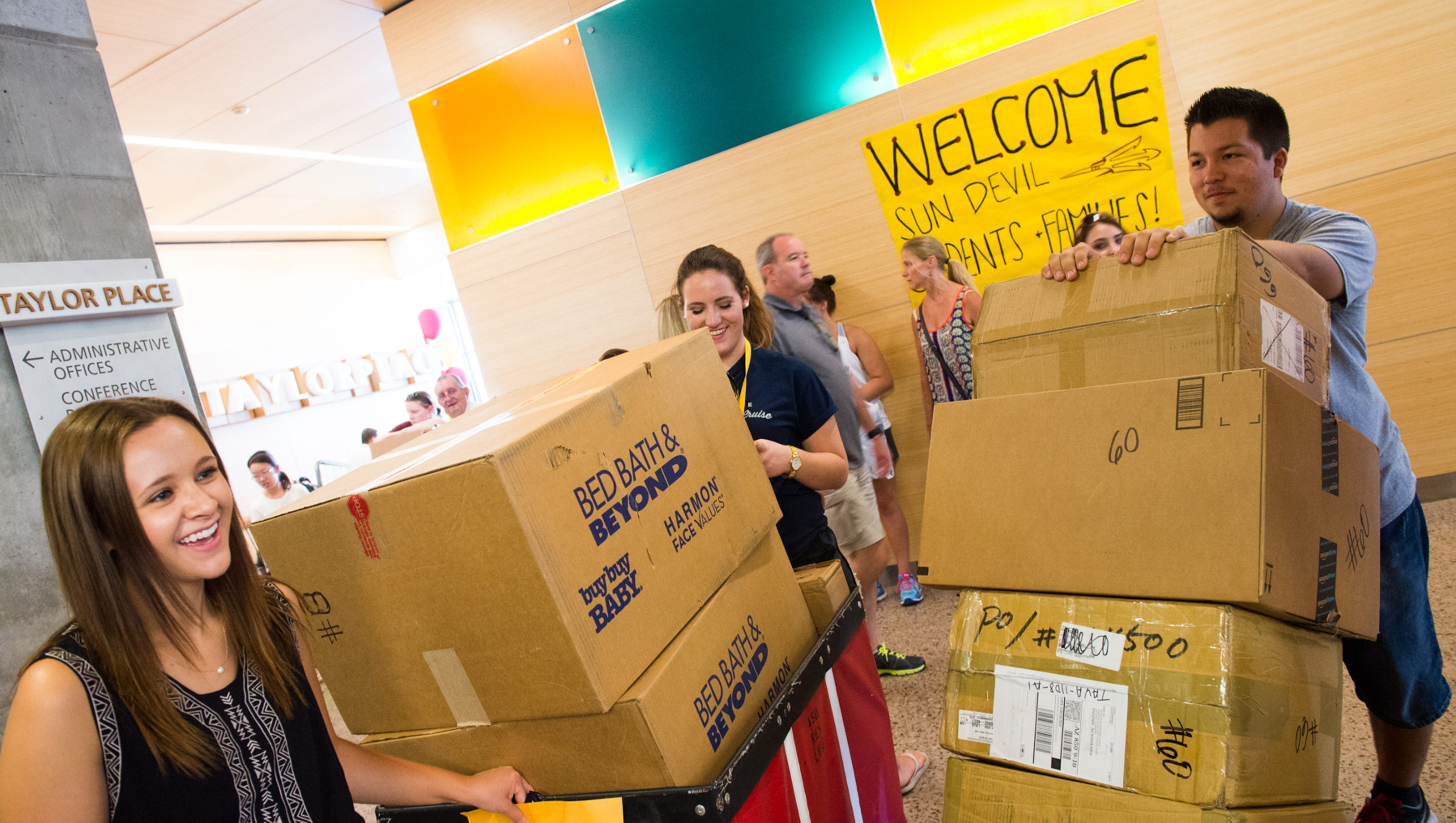 Image result for move in day asu