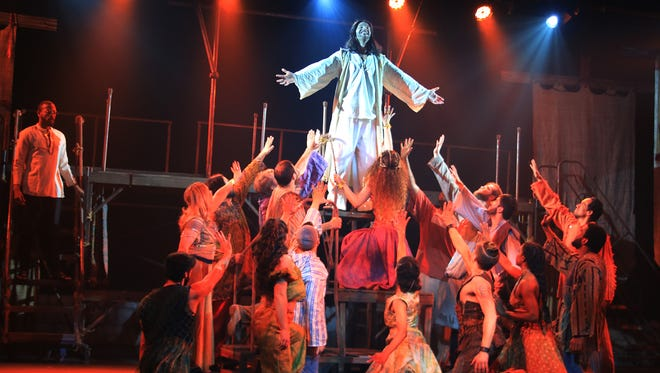 "A scene from Broadway Palm's ""Jesus Christ Superstar"""