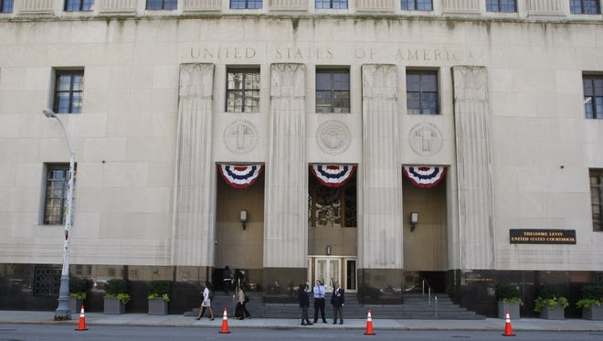 Detroit Free Press file photo of Theodore Levin United States Federal Court House in Detroit.