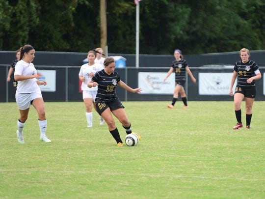 Westview's Brittney Johnson is a senior midfielder