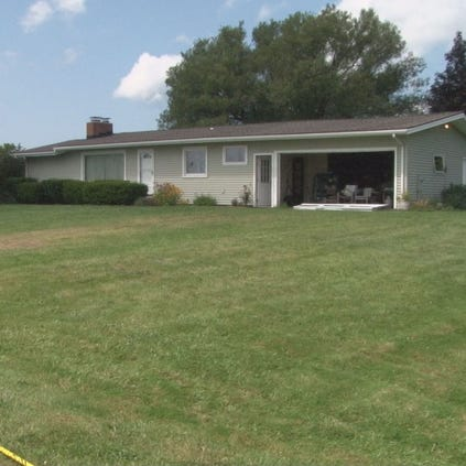 Police investigate homicide at the residence of Mary Whitaker