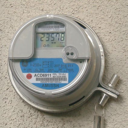 Some FP&L customers upset over fee for opting out of smart meters.