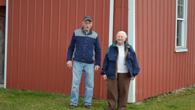 Richard and Marilyn Reeder still own land in Genoa that has been in the Reeder family for over 100 years.
