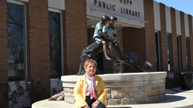 Barb Wenzinger has served as a trustee on the board of Ida Rupp Public Library since 1983. The board's current project is the completion of a branch library in Marblehead.