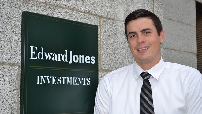 Edward Jones financial adviser Brian Greggila opened an office in the Bank of Elmore building in July. Villagers are happy to see the much-loved and historically important building once again occupied. Next year, a new bank will also move into the space.