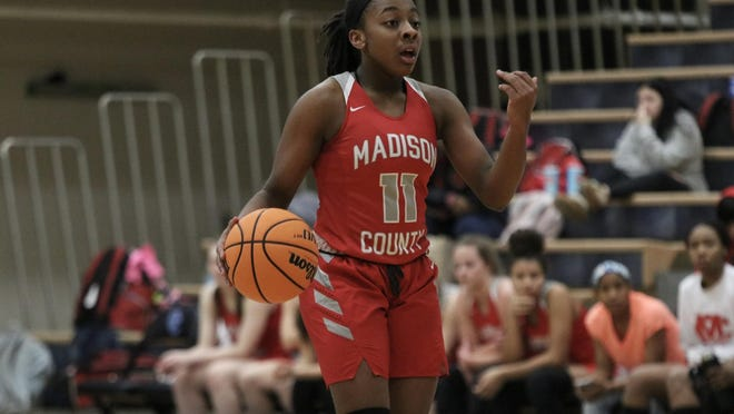 Madison County point guard Kayla McPherson committed to XXX on Sunday she announced on her Instagram account.