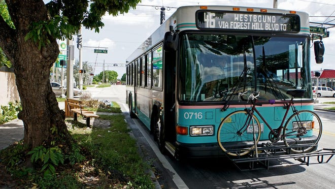 A project sponsored by Sen. Bobby Powell that would have helped impoverished riders get cheaper Palm Tran fares was vetoed by Gon. Ron DeSantis.