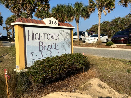 A woman was sexually assaulted Sunday night at Hightower Beach Park in Satellite Beach.