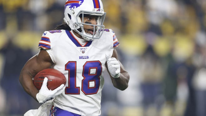 Receiver Andre Roberts is a talented returner, but the depth at the receiver position in Buffalo is as deep as it's ever been.