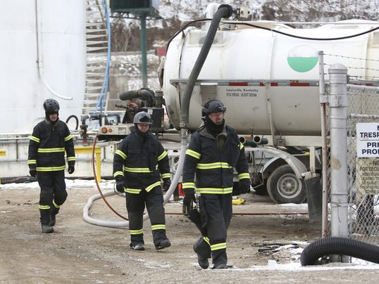 AP Chemical Spill West Virginia