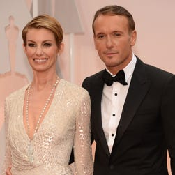 Faith Hill and Tim McGraw attended the Academy Awards on Feb. 22.