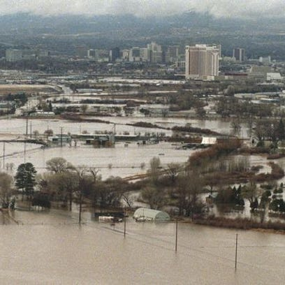 Snow, floods, dust: 8 of the worst storms in Northern Nevada since the 1990s