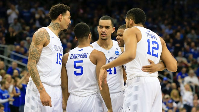 John Calipari says he thinks at least five Kentucky players could declare early for the NBA Draft.