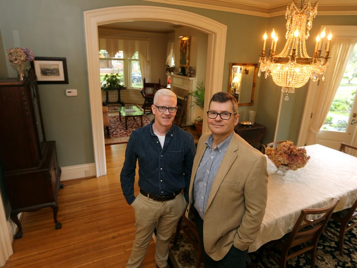 Jim Aimers and Don Symer's home on Arnold Park will