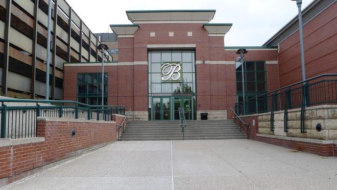 The north entrance of the Burlington Town Center Mall in Burlington