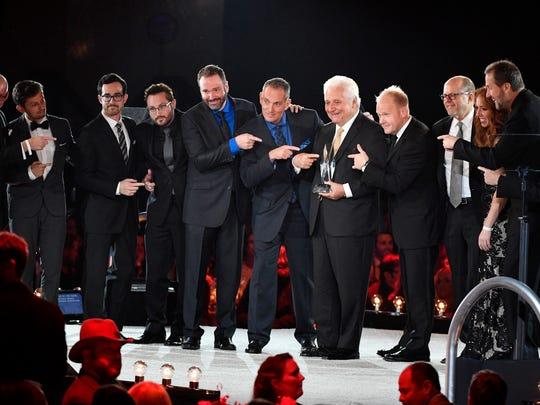 The Sony/ATV Music Publishing Nashville team accepts