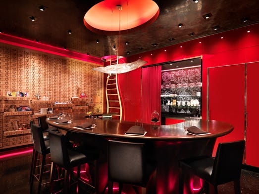 Small Private Dining Rooms Las Vegas