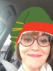 Abbey Doyle tested out the sELFies feature on the Santa Tracker app.