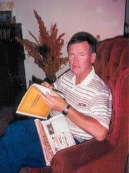 Bart Millard's dad, Arthur, in early 1991, about 10