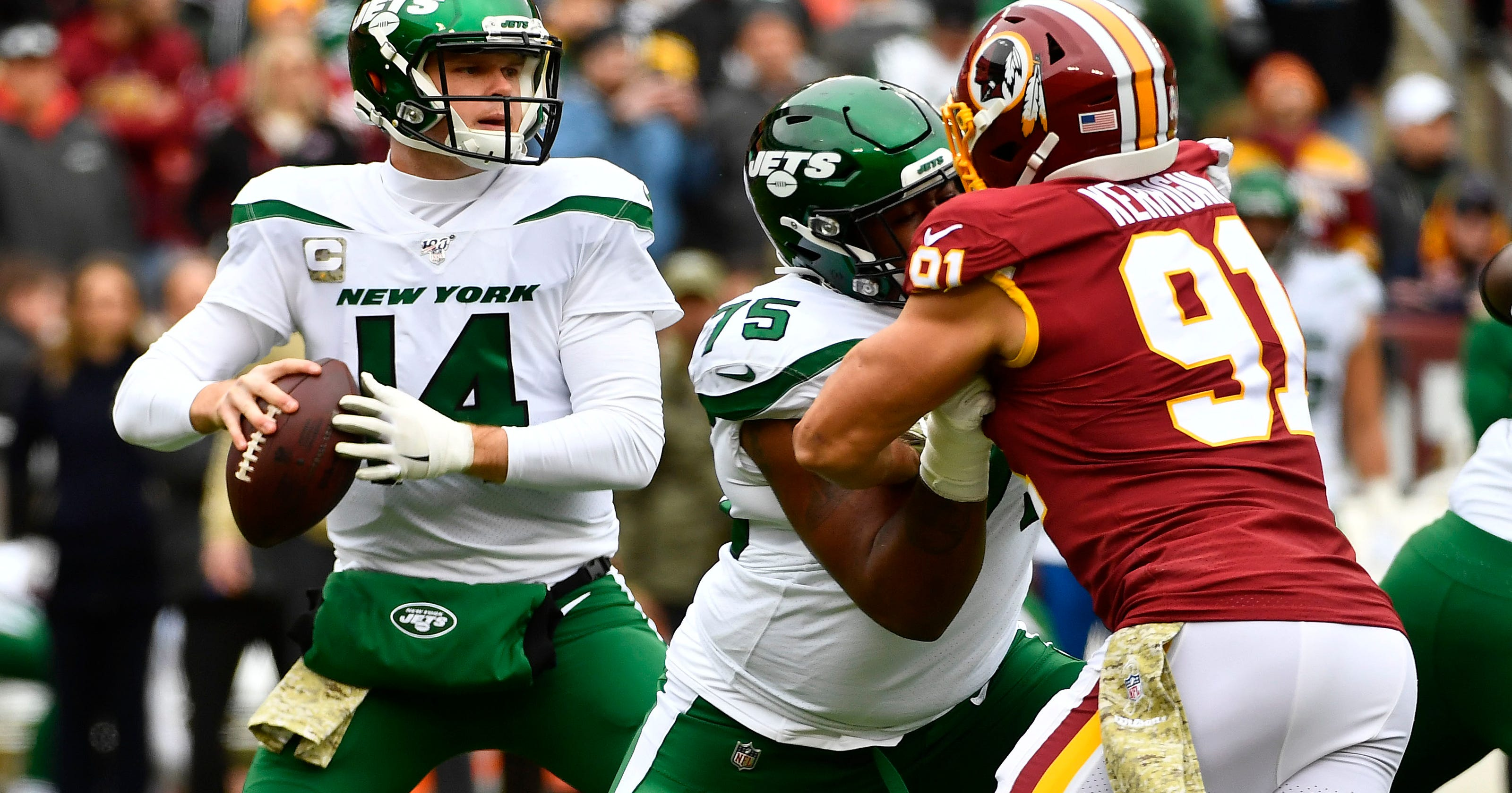 Ny Jets Sam Darnold Look To Keep Momentum Going Vs Oakland