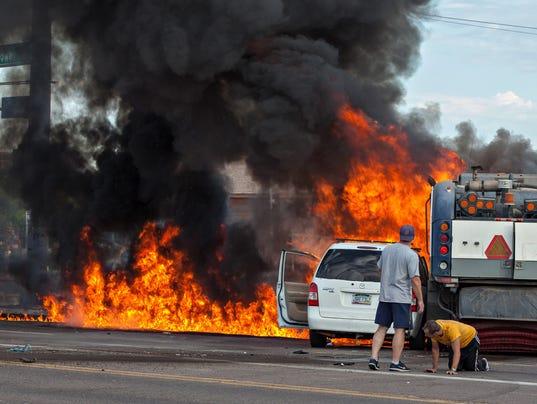 Fatal phoenix car accident