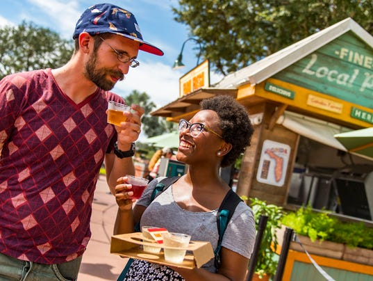 Epcot International Food & Wine Festival: Farm Fresh Marketplace