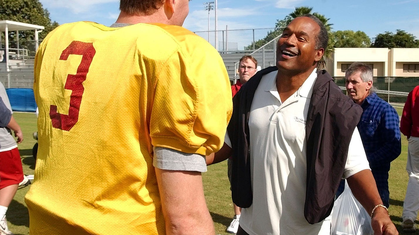 O j simpson won 39 t be invited to usc practices or functions for Schlafsofa 1 40x2 00