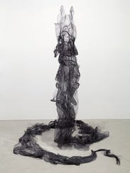Sculptures of fabric and felted material by Irene LaVon
