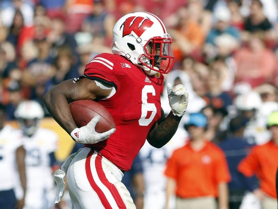 Corey Clement returns to lead the Wisconsin rush attack.