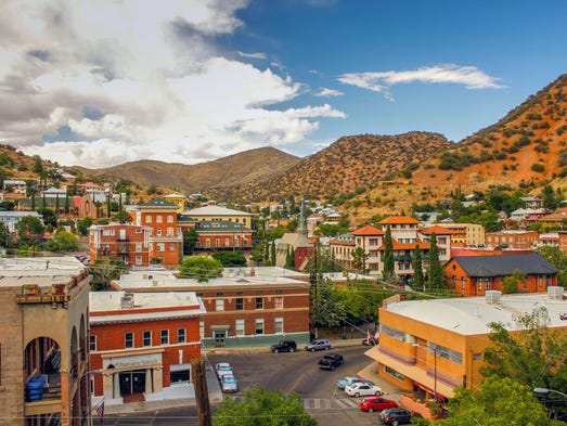 Bisbee reinvented itself in the 1970s when its  mining