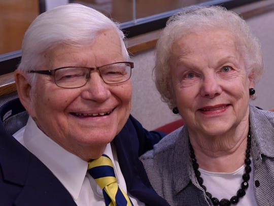 The Rev. Dr. Victor F. Halboth and Blanche Halboth,