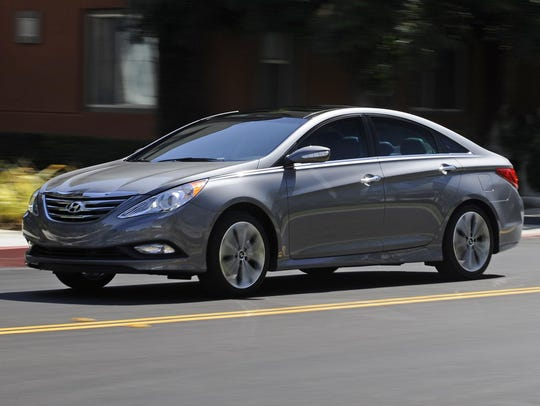 The 2014 Hyundai Sonata was included in last year's