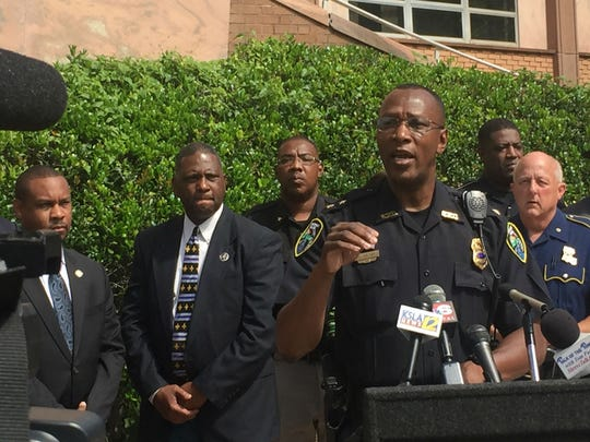 Police Chief Alan Crump responded to media inquiries
