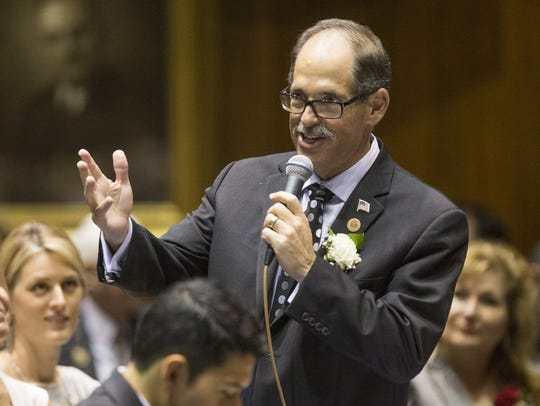 Rep. David Livingston, R-Peoria.