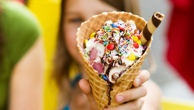 National ice cream chains and other food purveyors are offering deals and specials for National Ice Cream Day, July 16, 2017.