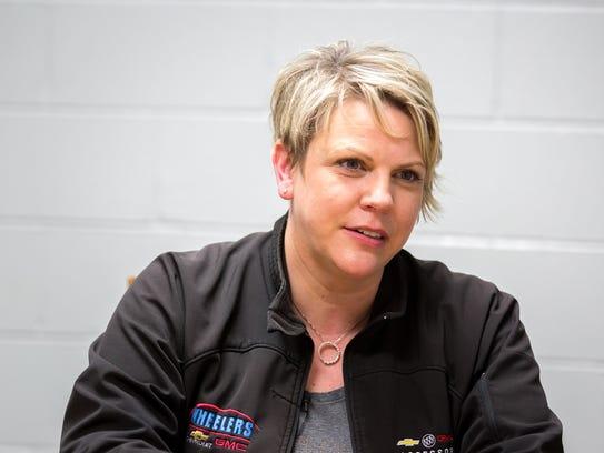 Mary Jo Wheeler, owner of Wheelers Chevrolet GMC in