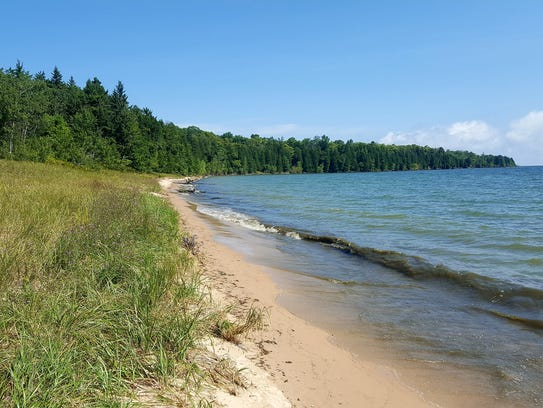 Newport State Park in Door County protects 11 miles