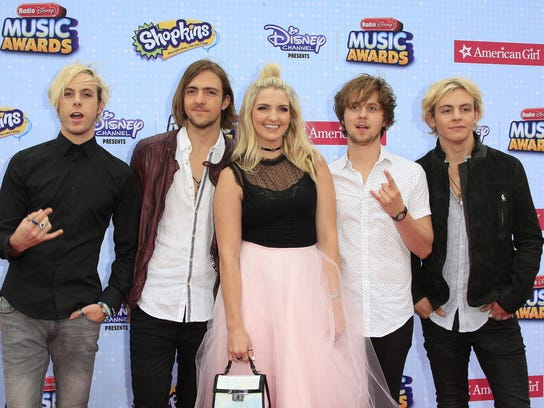 From (L-R): Riker Lynch, Rocky Lynch, Rydel Lynch,