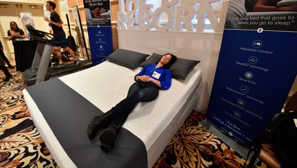 Christine Hamon from Sleep Number relaxes on the company's