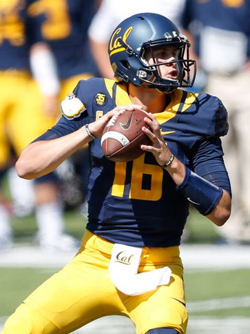 Cal quarterback Jared Goff completed more than 61%