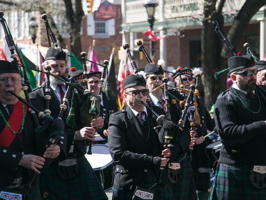 34th Annual York Saint Patrick's Day Parade, Saturday,