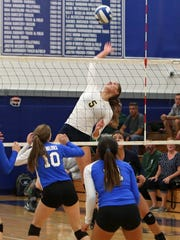 Walter Panas defeated Hendrick Hudson 3-0 in volleyball